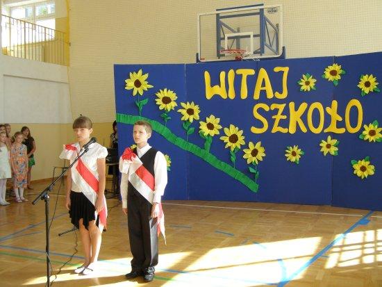 Uroczysta inauguracja nowego roku szkolnego 2008/2009