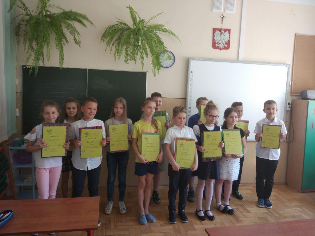 Gminny Konkurs Ortograficzny w Boguchwale dla uczniów klas I- III