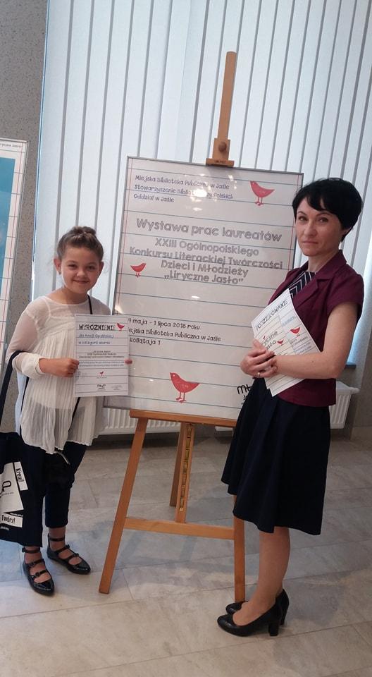Amelia w finale ogólnopolskiego konkursu literackiego!
