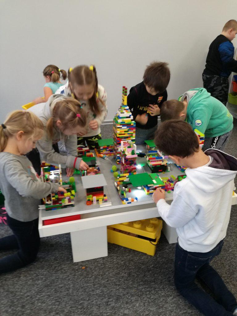 Warsztaty  budowania z klocków Lego
