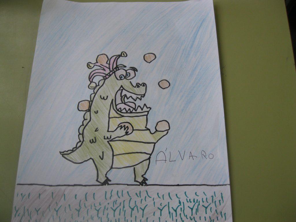 Dibuixos drac ET 122