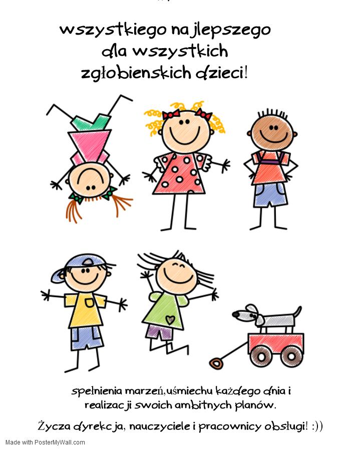 Wszystkiego Najlepszego z Okazji Dnia Dziecka!:)))))
